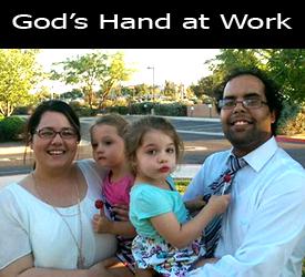 Gods Hand at Work